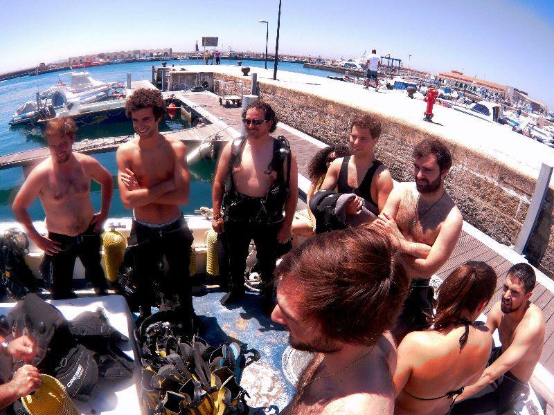 Curso de bautismo de buceo en Tarifa