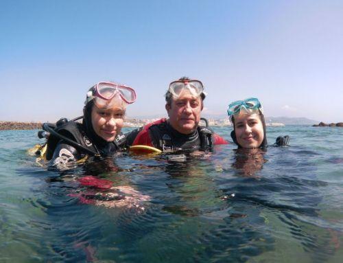 Las maravillas del buceo desde Sevilla en Tarifa (Cádiz)