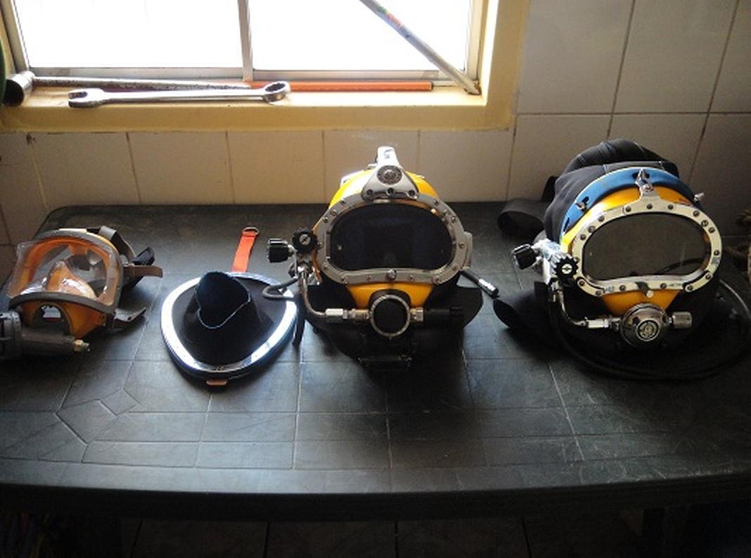casco buceo profesional buzo profesional españa Pretoriano
