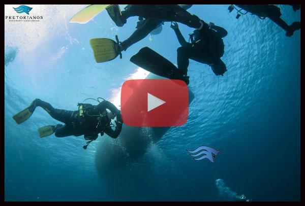 Videos de Buceo Pretorianos en TArifa